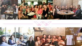 Women of GumGum Dinners around the world!